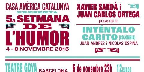 Inténtalo Carito festival del humor Barcelona
